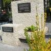 Koszorúzás a Vagongyári emlékhelyen